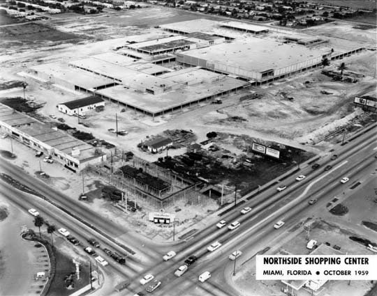 1959 - Northside Shopping Center under construction