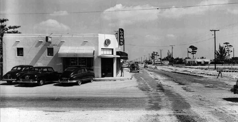 1951 - the Northwest corner of NW 7 Avenue and 95 Street, Miami