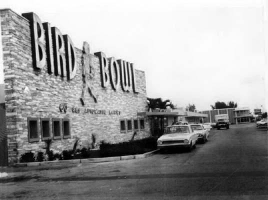 1963 - Bird Bowl at 9275 Bird Road, Miami