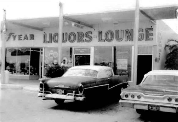 1964 - Liquor Store and lounge at 11359-61 Bird Road, Miami