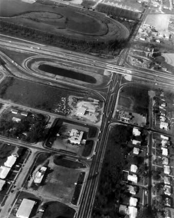 1965 - Bird Road and the Palmetto Expressway, Miami