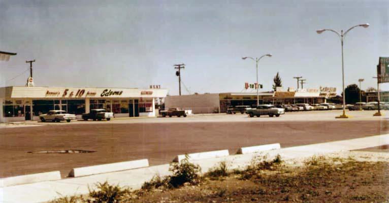1965 - a strip shopping center at 10961 Bird Road, Miami