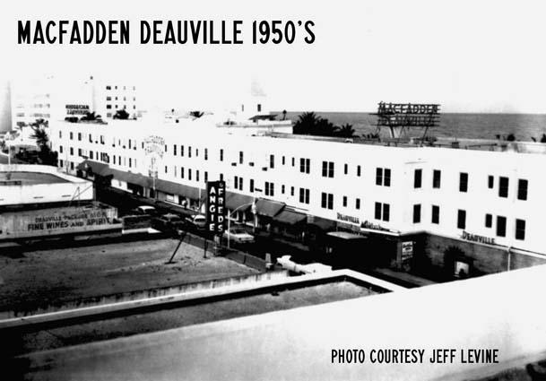 1950s - the MacFadden Deauville Hotel on Miami Beach