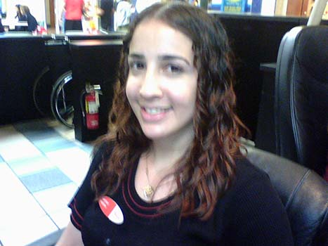 January 2008 - Caridad Nieblas on her last day at Westland Mall