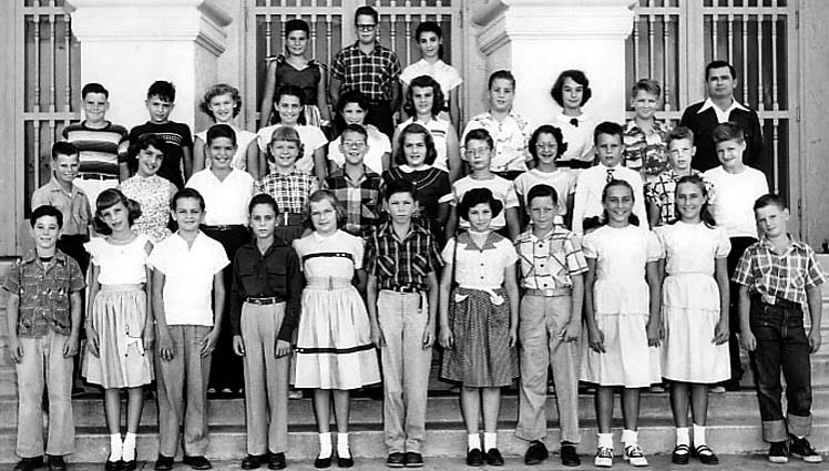 1953 - Mr. Allens 6th grade class at Coral Gables Elementary School
