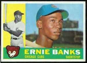 Ernie Banks, Chicago Cubs from 1953 to 1971, 1931-2015