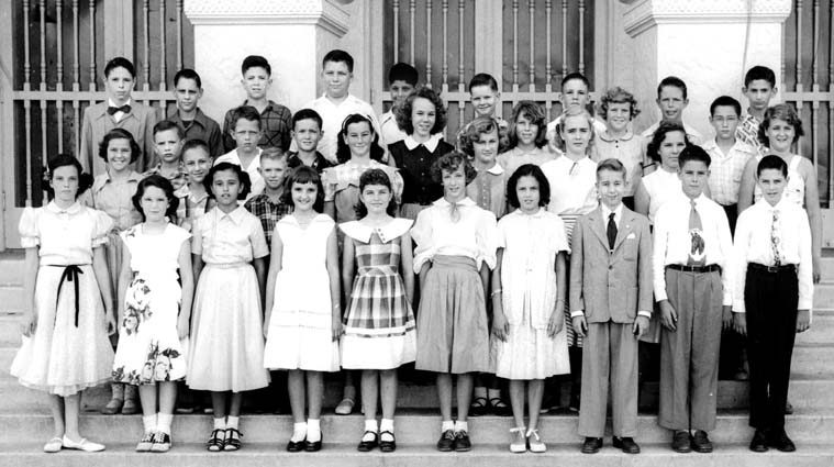 1952 - Mrs. Piants 6th Grade class at Coral Gables Elementary School