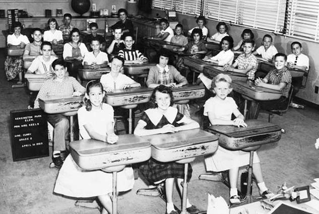 1960 - Mrs. Currys 6th grade class at Kensington Park Elementary School in Miami