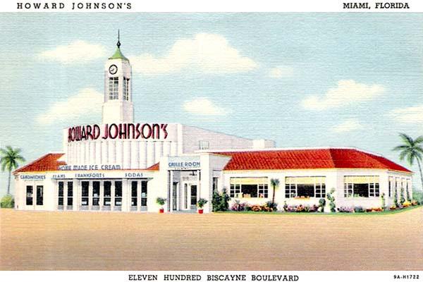 1939 - Howard Johnsons Restaurant on Biscayne Boulevard