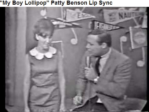 Mid to late 1960s - Rick Shaw Show with Rick and Pat Benson lip syncing My Boy Lollipop