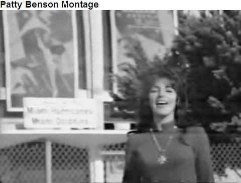 Mid to late 1960s - Rick Shaw Shows Pat Benson lip syncing a medley of songs