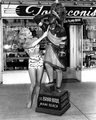 1950s - the Briar Bowl Tobacconist at 108 23rd Street, Miami Beach