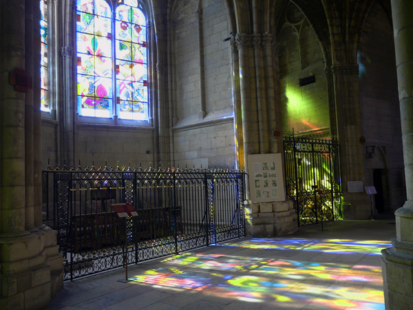 Sunlit Window, Cathedral St. Cyr & Ste. Julliette, Nevers.