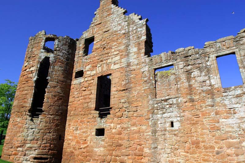 Edzell Castle, Edzell.
