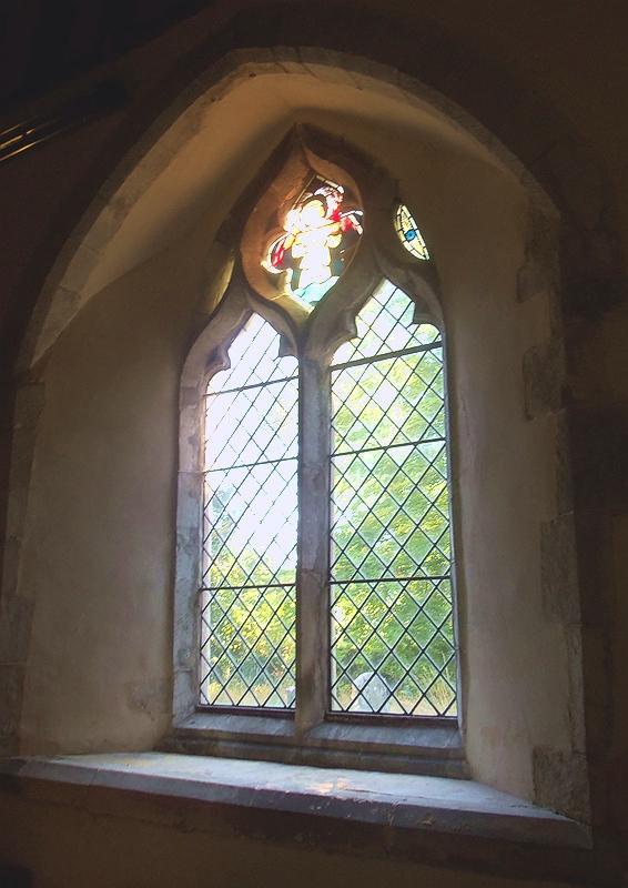 SOUTH AISLE WINDOW