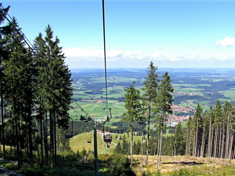 Nesselwang chairlift