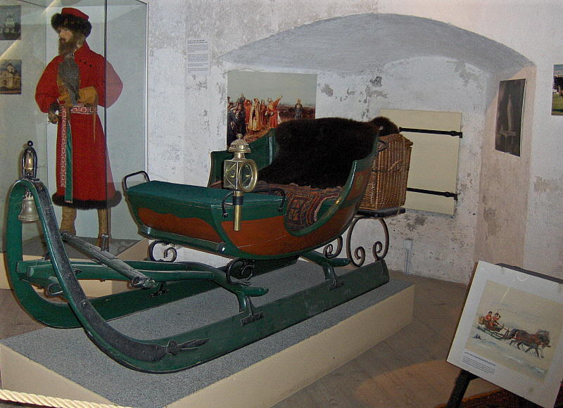 OLD SLEIGH CARRIAGE