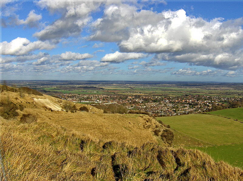 A VIEW OF STEYNING & BEYOND   1073