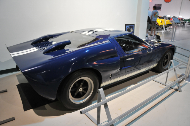 1989 Mark V reproduction of 1966 Ford GT40 Mark II