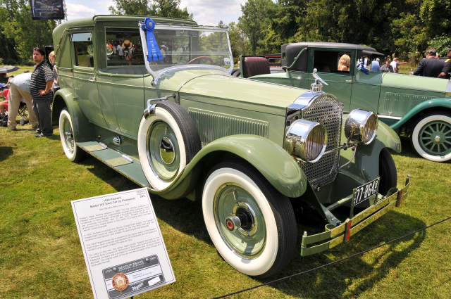 1924 Packard Model 143 Town Car by Fleetwood, owned by Don Hanson
