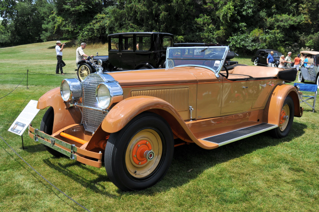 1925 Packard 236 Speedster Phaeton by LeBaron, designed by Raymond Dietrich, owned by Robert E. Signom II (PP st)