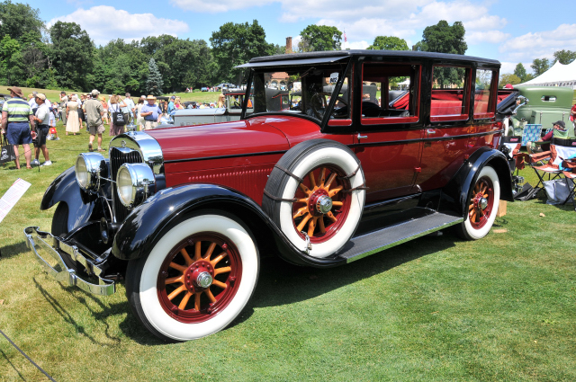 1926 Lincoln Model L Convertible Berline by Dietrich, owned by J. Gregory Dawson