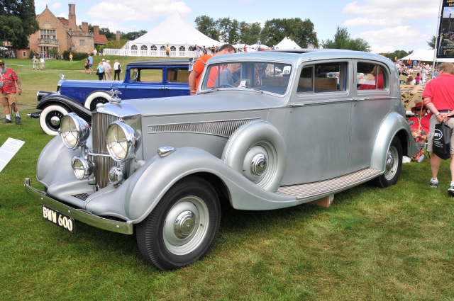 1937 Hudson Railton 4 Door Sedan By Rippon Bros., Owned By Eldon And