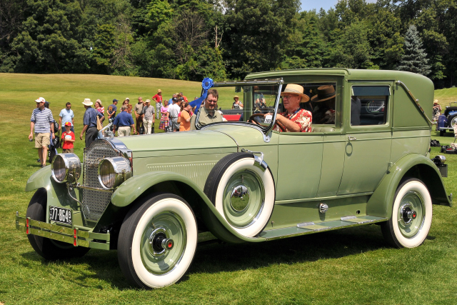 1924 Packard Model 143 Town Car by Fleetwood, owned by Don Hanson (PP cr)