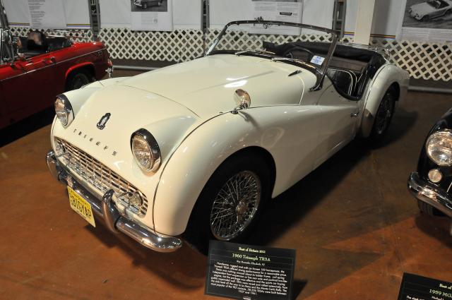 1960 Triumph TR3A, Ray Homiski, Elizabeth, NJ (2963)