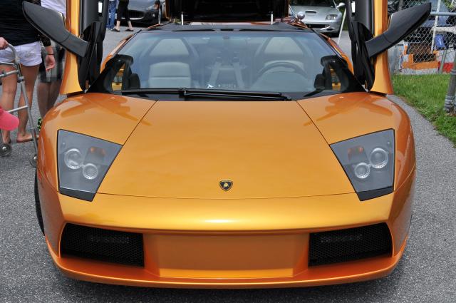 Lamborghini Murcielago Spider ... up to here, RADCLIFFE MOTORCAR display (3214)