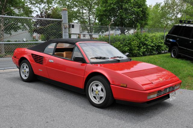 1980s Ferrari Mondial Cabriolet (3293)