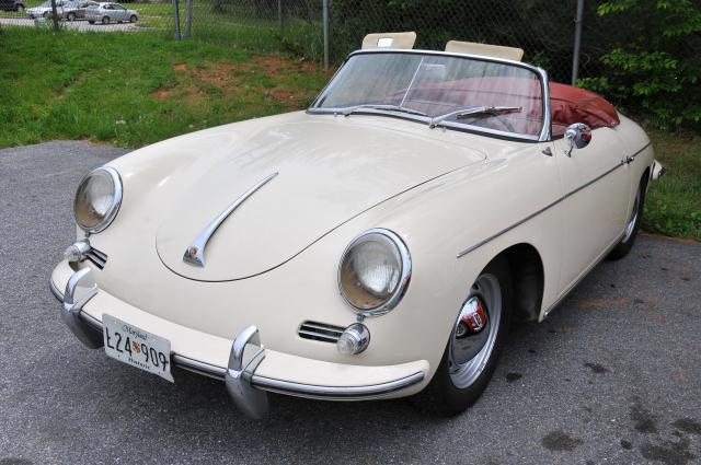 Porsche 356 Cabriolet (3297)