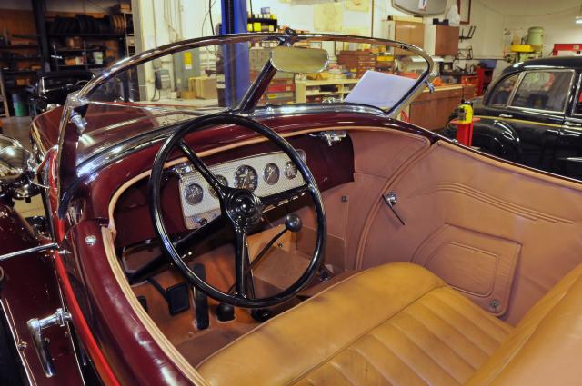 1931 Auburn Boattail Speedster (3484)