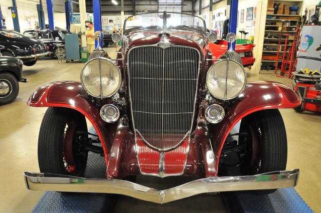 1931 Auburn Boattail Speedster (3494)