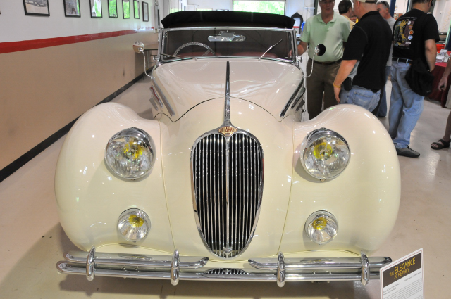 1948 Delahaye 135M Cabriolet, body by Figoni & Falaschi, owned by Ed & Carroll Windfelder of Baltimore since 1971 (3641)