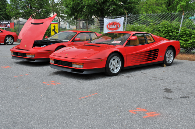 1980s Ferrari Testarossas (3697)