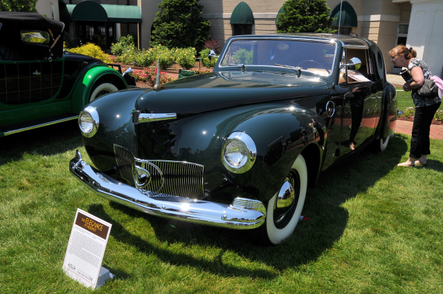 1941 Lincoln Continental Town Car by Derham, custom designed by Raymond Loewy, Richard Driehaus Collection, Chicago, IL (3889)