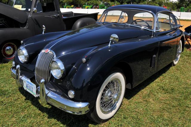 Late 1950s Jaguar XK150 coupe (5422)