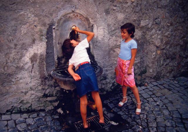 Anguillara, Italy, 1982.