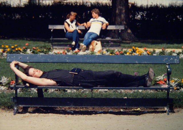 Tuileries Gardens, Paris, 1982.