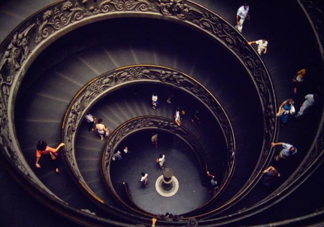 The Vatican Museum, 1982.