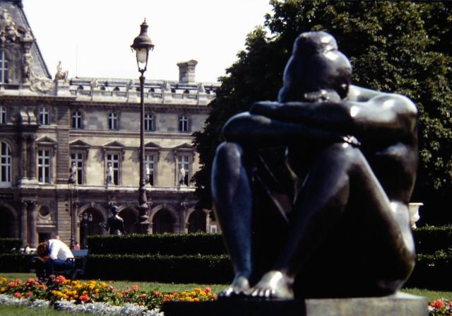 Tuileries Gardens, Paris, 1982.