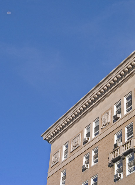 Top of the Former West Virginian Hotel
