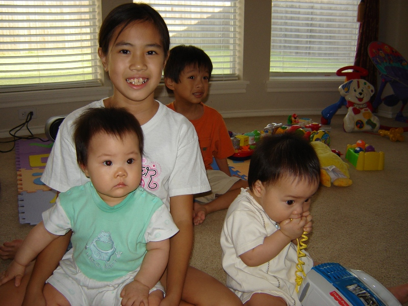 Josephine, Tiffany, Timothy, & Michael