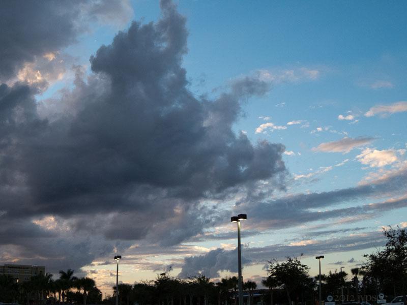 parking lot sky