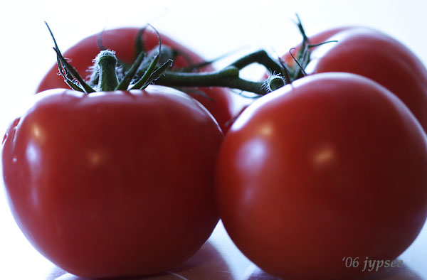 two tomatoes times two
