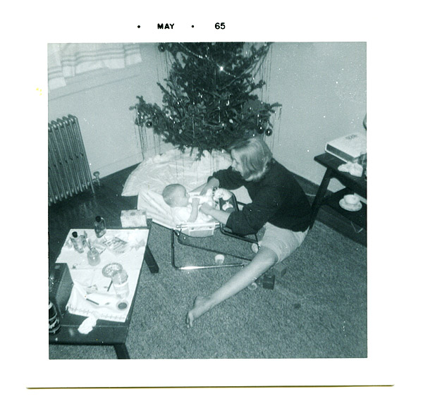 gee, that Christmas tree was up a long time....