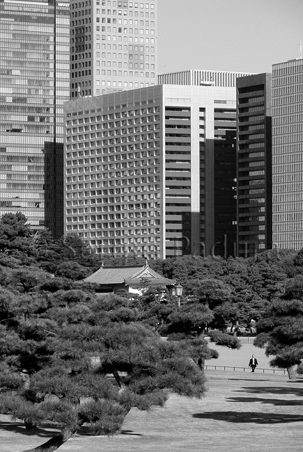 Otemachi from Chiyoda Park