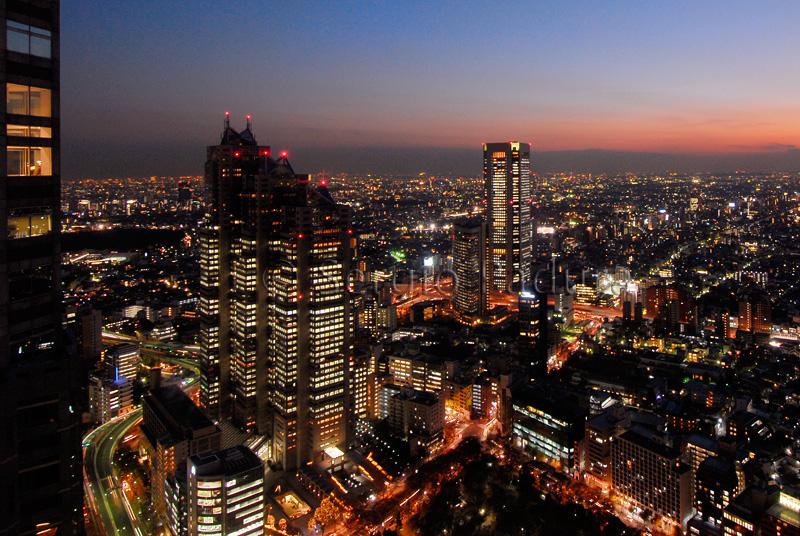 Park Hyatt Hotel Tokyo and The Opera City Tower