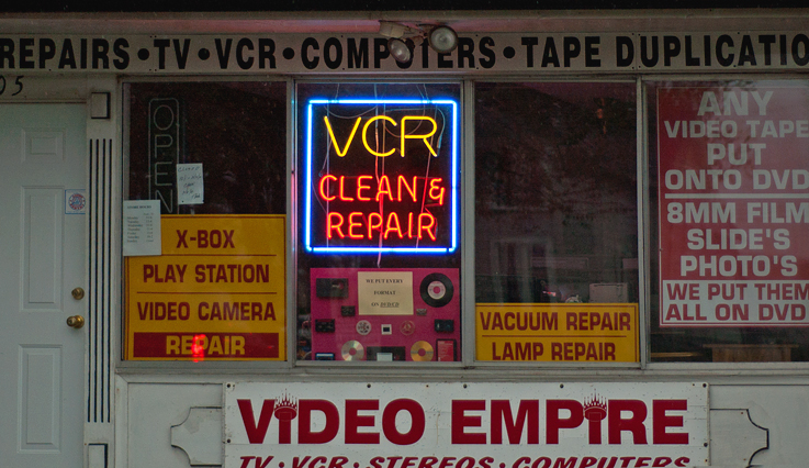 VCR REPAIR---NOT SO SURE